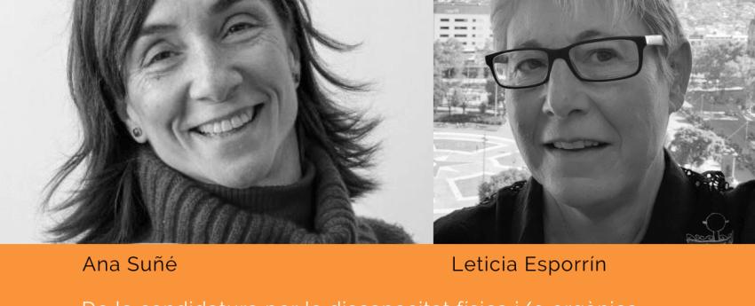 Ana Suñé i Leticia Esporrin, escollides a les eleccions de l'IMPD