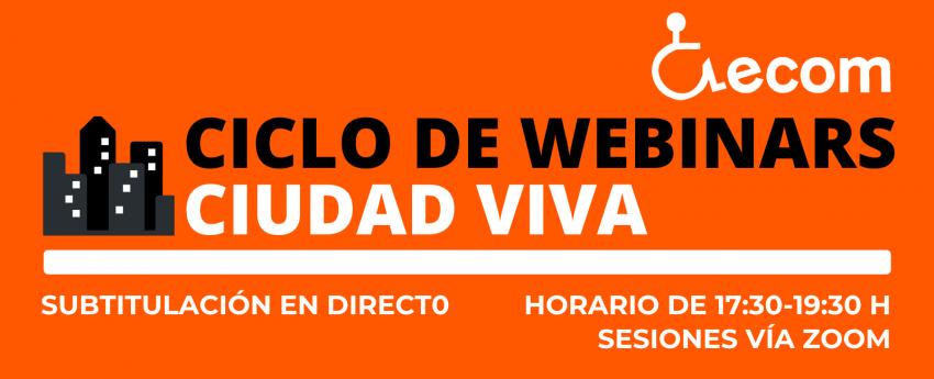 Ciclo de webinars Ciudad Viva