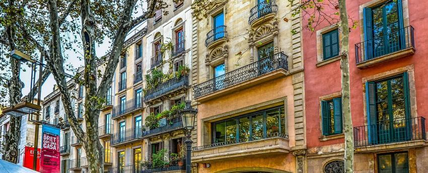 Façanes d'edificis de Barcelona