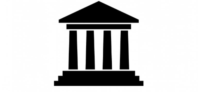 Icono de un edificio gubernamental