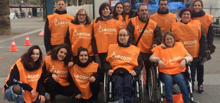 Grupo de personas voluntarias de nuestra entidad